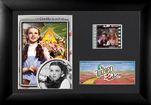 Wizard Oz Munchkin Pictures (Wizard of Oz Dorothy (S19) Framed and Matted Film Cell Minicell USFC6340)