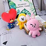 Kaliste Bangtan Boys Plush Doll Cute Cartoon Pillow Dolls Toy Pillows Cushion Home/car/Office/Travel/Sofa Decor Great Girl Gift