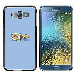 EJOOY---Cubierta de la caja de protección para la piel dura ** Samsung Galaxy E7 E700 ** --Lápiz Grinder