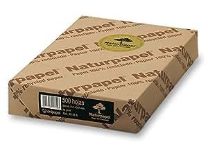 Naturpapel 49888 - Paquete de 500 hojas A4, 80 gramos