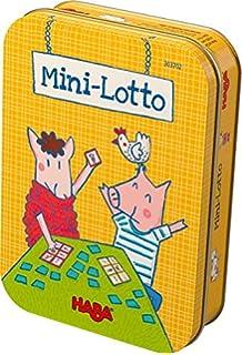 Haba- Mini Loto, Multicolor (Habermass 304061) , color, modelo surtido: Amazon.es: Juguetes y juegos