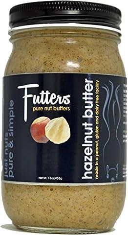 Futters Hazelnut Butter - Natural (Dry Roasted) - 16 Ounce (Hazelnut Roasted)