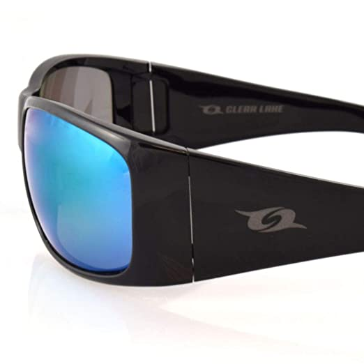 Clear Lake Montana Polarized Sports Sunglasses for Men Women Fishing Running Hiking Running Cycling