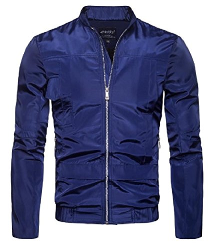 up Winebreaker Britain blue Spring Waterproof Autumn Jackets Men's Zip Howme Navy Yq6w5RT