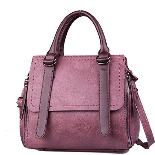 Bolso Con Bandolera Crossbody De Mujer Con Estampado De Moda Vintage Purple