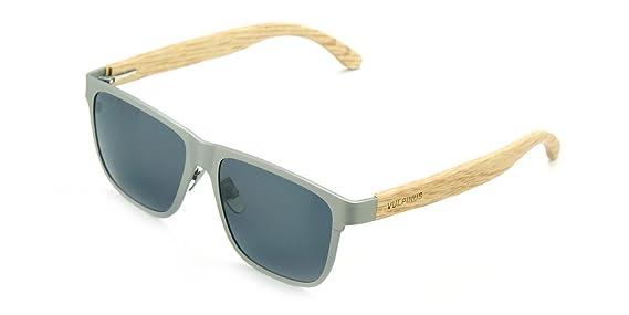Vulpinus® BOLD Titanium SILVER & OAK - SMOKY - Gafas de Sol ...