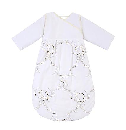 chilsuessy saco de dormir Saco Manta bebé para cama, 20 – 25 Grado blanco blanco