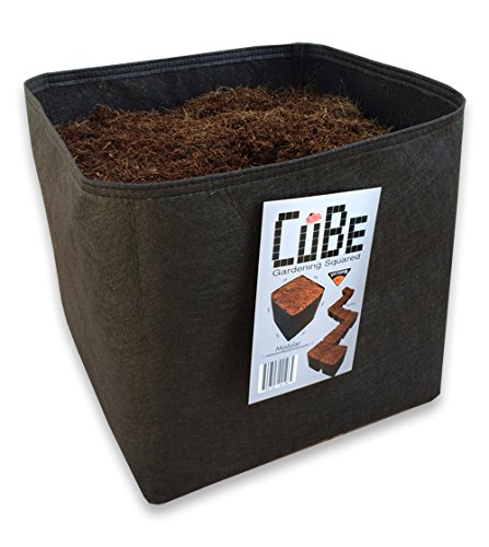(Victory 8 (Pack of 4) Cube Garden Square1 Foot x 1 Foot Modular Fabric Pot