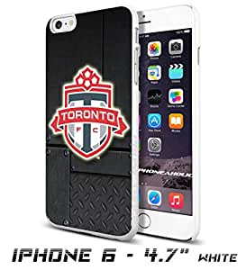 Soccer MLS TORONTO SOCCER CLUB FOOTBALL FC LogoCool iPhone 6 - 4.7 Inch Smartphone Case Cover Collector iphone TPU Rubber Case White [By PhoneAholic]
