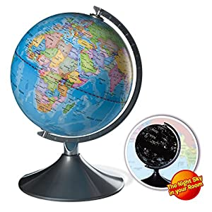 Interactive Globe for Kids, 2 in 1, Day View World Globe and Night View Illuminated Constellation Map - 51O7L8aVRxL - Interactive Globe for Kids, 2 in 1, Day View World Globe and Night View Illuminated Constellation Map