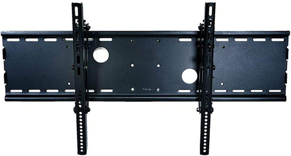 Monoprice Adjustable Tilting Wall Mount Bracket for LCD LED Plasma Max 165Lbs, 30 63inch – Wide – Black