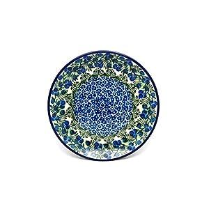 Polish Pottery Plate – Salad/Dessert (7 3/4″) – Huckleberry