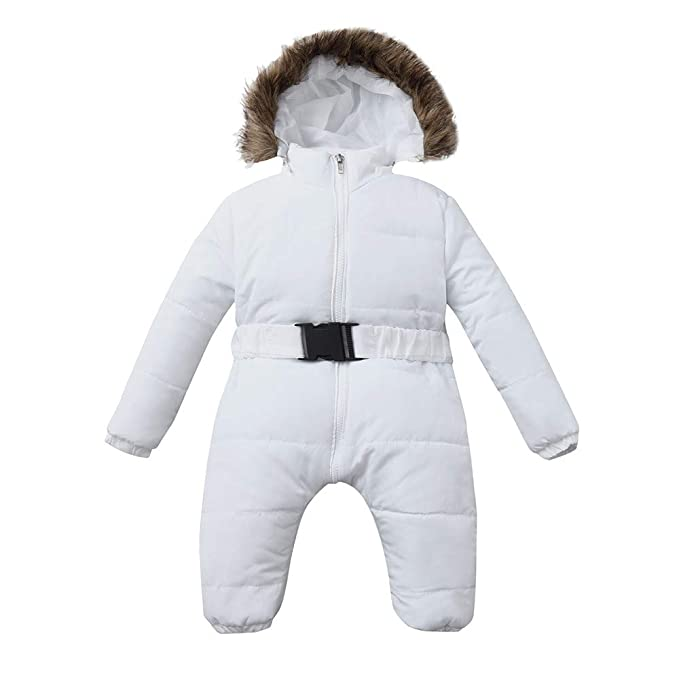 Lavany  Baby Down Coats Infant Girls Winter Hooded Jackets Outwear for 0-24 Months