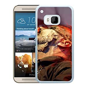 Beautiful Designed Cover Case With Mayhem Microphone Singing Show Shirt (2) For HTC ONE M9 Phone Case