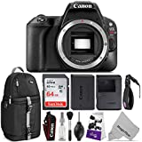 Canon EOS Rebel SL2 DSLR Camera Body w/Advanced Photo and Travel Bundle