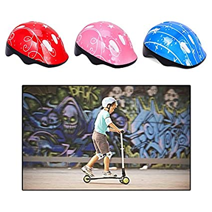 Amazon.com : Ultralight Children Bicycle Dirt Bike Helmets Kids Ages 3-5-8 Pulley Skateboard Riding Kask Kids Cycling Safe Equipment Ciclismo Casco Girls ...
