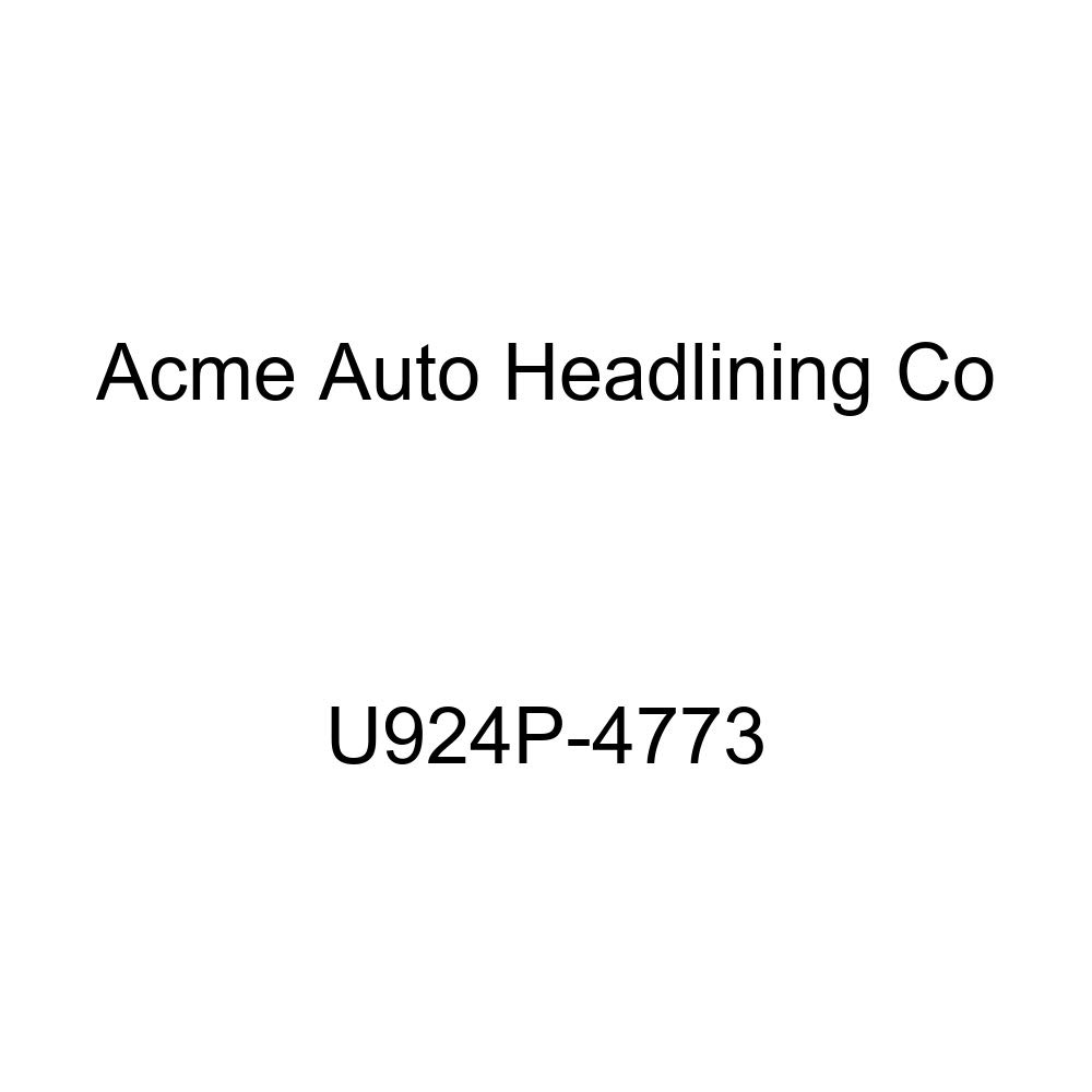 Acme U924P-4773 Front and Rear Saddle Vinyl Bench Seat Upholstery