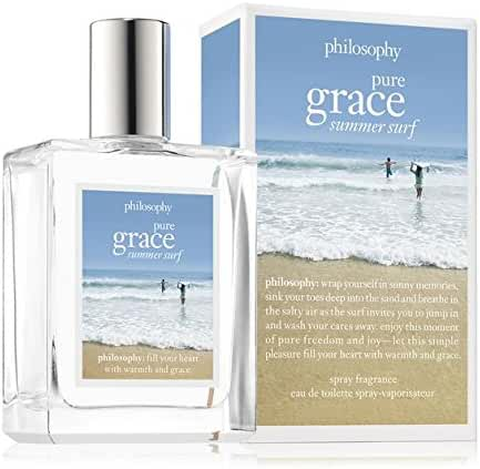 Philosophy Pure Grace Summer Surf for Women Eau de Toilette Spray, 2 Ounce