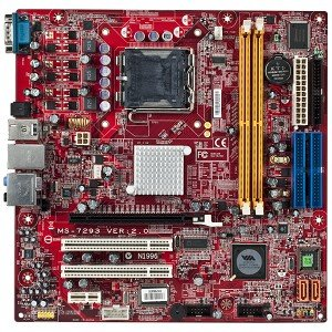 amazon com msi ms 7293 via pt890 socket 775 micro atx replacement rh amazon com msi ms-7293 manual motherboard msi ms-7293 manual