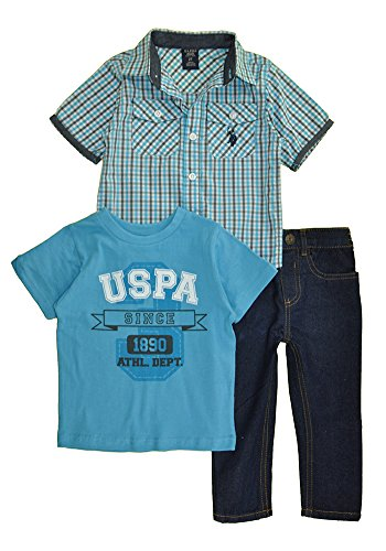 us-polo-assn-little-boys-3-piece-short-sleeve-shirt-t-shirt-and-denim-jean-set-multi-plaid-turquoise