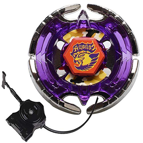 Bey Battling Top Blade High Performance Fight BB-47 Earth Eagle (Aquila) 145WD Metal Fusion Battling Top Gyro Toys 4D System with LL2 Launcher (Earth Eagle Beyblade)