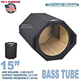 15'' Single Ported Bass Tube