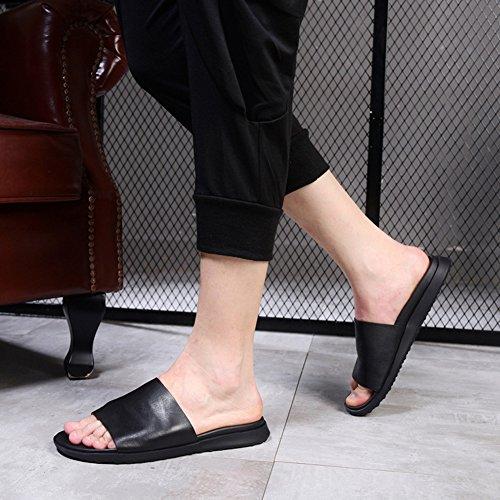 Nous Diapositives Sandales Classiques Noir Urbain 0BRd98Gm