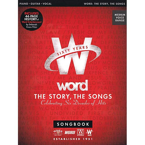 (Word - The Story, The Songs (Celebrating Six Decades of Hits) Sacred Folio Series Softcover by Various Pack of 2)