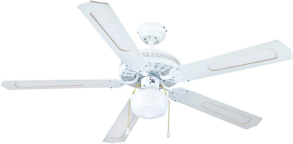 FM 8427561009457 Ventilador techo VT-CLASSIC 130 B, Blanco