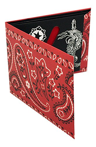 The Bandana' A Classic paper wallet from Moon Wallets. A perfect masculine gift!