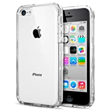 Spigen Ultra Hybrid iPhone 5C Case with Air Cushion Technology and Hybrid Drop Protection for iPhone 5C 2013 - Crystal Clear