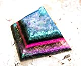 Orgonite Crystal Pyramid \ Violet Flame Alchemy