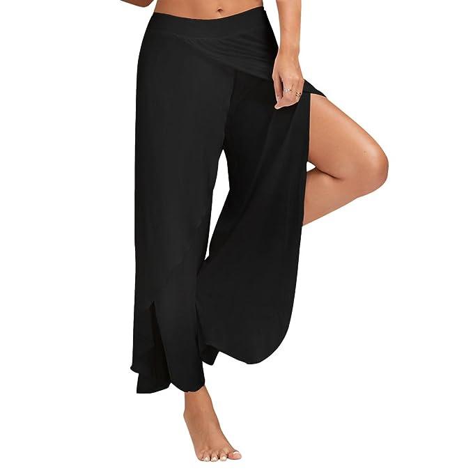 Amazon.com: Pantalones de mujer con capas laterales ...