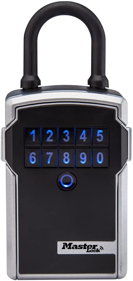 Master Lock Lock Box, Electronic Portable Key Safe with Personal use Software Platform, 3-1/4 in. Wide, 5440D