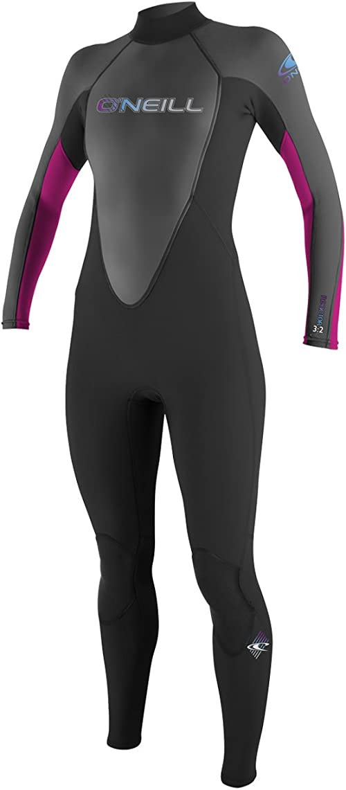 O'Neill Women's Reactor 3/2mm Back Zip Full Wetsuit