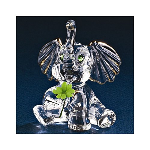Glass Baron Lucky Elephant Figurine