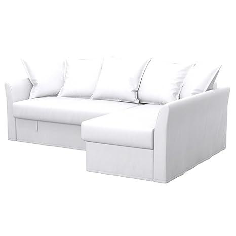 Soferia - IKEA HOLMSUND Funda para sofá Esquina, Eco Leather ...