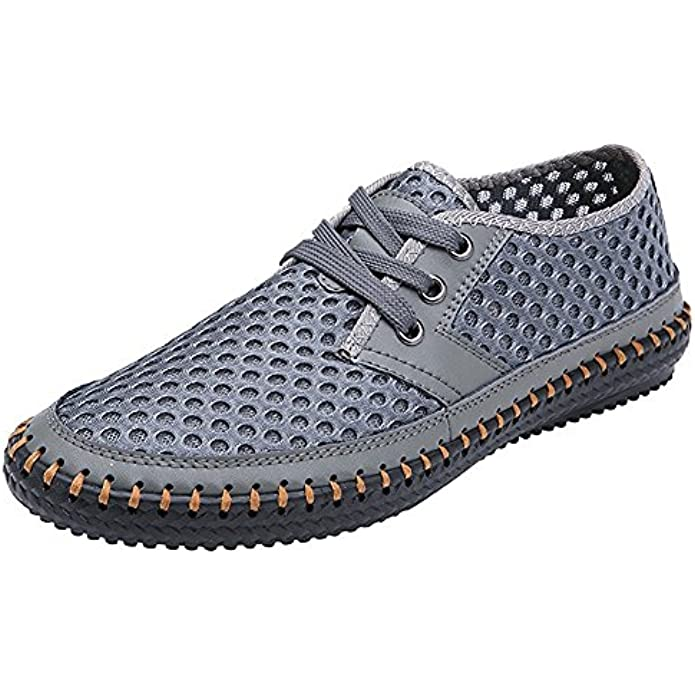 MIXSNOW Men's Poseidon Slip-On Loafers Water Shoes Casual Walking Shoes
