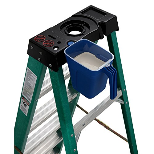 4 ft. Fiberglass Step Ladder with 225 lb. Load Capacity Type II Duty Rating