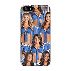 High-end Case Cover Protector For Iphone 5/5s(detroit Lions Cheerleaders Customes)