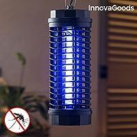 InnovaGoods KL-1800 Lámpara Antimosquitos, Negro