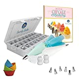 Swirly Bake 50 Piece Cake Decorating Set for Cakes, Cupcakes, Baking Cookies and Pastries
