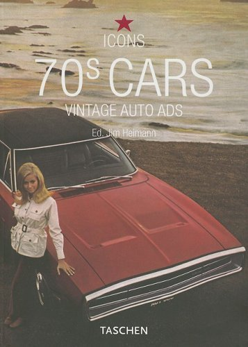 70s Cars; Vintage Auto Ads by Tony Thacker (2006-02-24)
