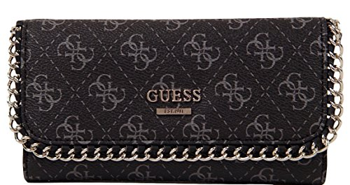 GUESS Confidential Chain Wallet Clutch