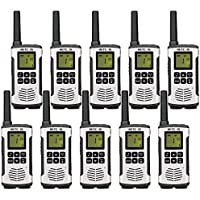 Retevis RT45 Walkie Talkies Rechargeable 22 Channel Call Reminder Private Codes Scan License-Free Hands Free 2 Way Radio (10 Pack)