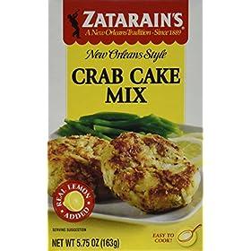 Zatarain's, Crab Cake Mix, 5.75 oz, Pack of 6