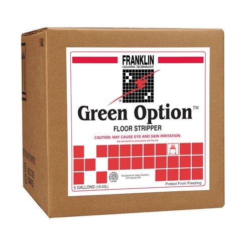Green Option F219025 5 gallon Floor Stripper Cube, Clear -