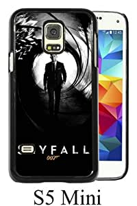 Beautiful Classic Skyfall James Bond Daniel Craig Black Case For Samsung Galaxy S5 Mini