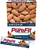 PureFit Gluten-Free Nutrition Bars with 18 grams Protein: Almond Crunch, 2 oz Bars, Pack of 15