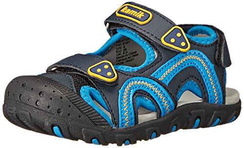 Kamik Sea Turtle Sandal (Toddler/Little Kid/Big Kid), Blue, 10 M US Toddler